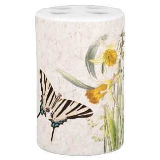 Swallowtail Butterflies Narcissus Flowers Bath Set
