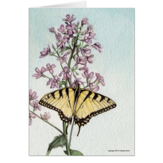 Swallowtail Butterfly by Michael Martin Card