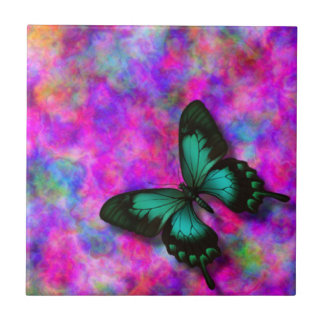 Swallowtail Butterfly Ceramic Tile