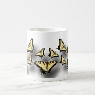 Swallowtail Butterfly Digital Art Mugs