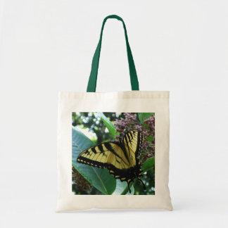 Swallowtail Butterfly I on Milkweed at Shenandoah Tote Bag