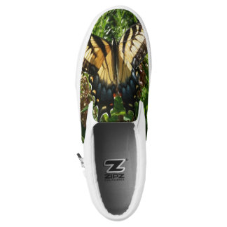 Swallowtail Butterfly III Beautiful Colorful Photo Slip On Shoes