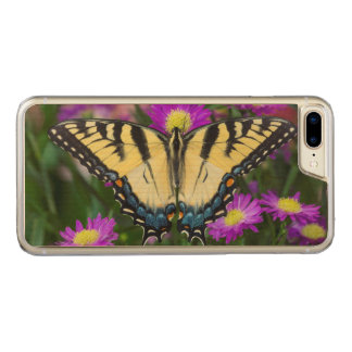 Swallowtail Butterfly on daisy Carved iPhone 8 Plus/7 Plus Case