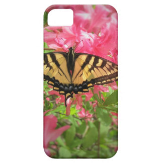 Swallowtail Butterfly Sits on Pink Azaleas Barely There iPhone 5 Case