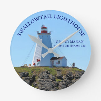 Swallowtail Lighthouse Grand Manan N.B. Clock