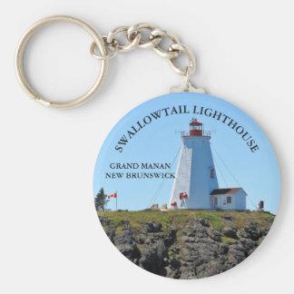 Swallowtail Lighthouse Grand Manan N.B. Keychain