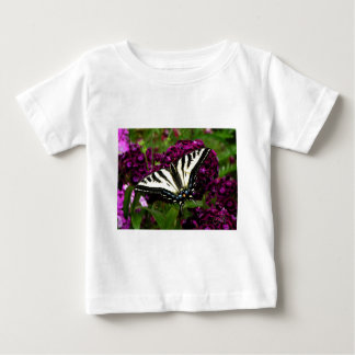 Swallowtail on the Butterfly Bush Baby T-Shirt
