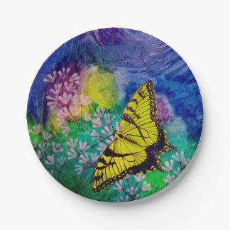 Swallowtail Paper Plates