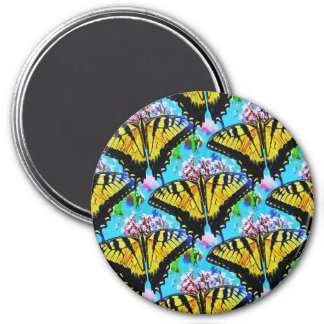 Swallowtails Galore.... 7.5 Cm Round Magnet