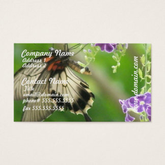 Swallowtal Butterfly Business Cards