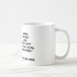 Swami Vivekananda Arise Awake Stop Not 'Til Goal Coffee Mugs