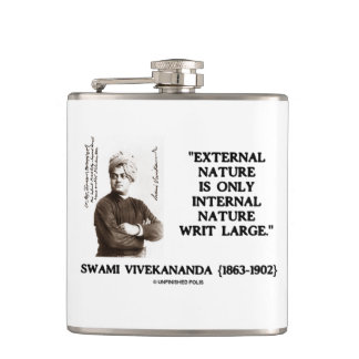 Swami Vivekananda External Nature Internal Nature Flask