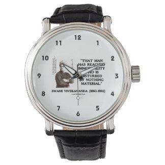 Swami Vivekananda Man Reached Immortality Material Wristwatch