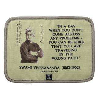 Swami Vivekananda Problems Traveling Wrong Path Folio Planners