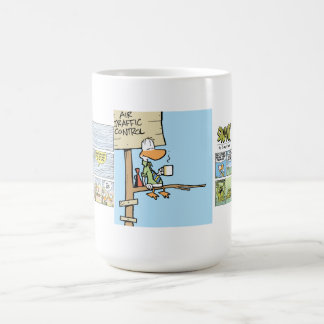 Swamp Air Traffic Control Coffee Basic White Mug