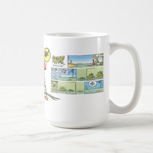Swamp Air Traffic Control Duck Mug