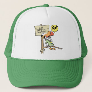 Swamp Air Traffic Controller Trucker Hat