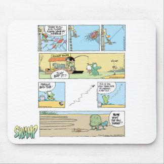 Swamp Cartoon Compilation Mousepad