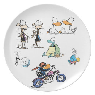 Swamp Character Compilation Plate