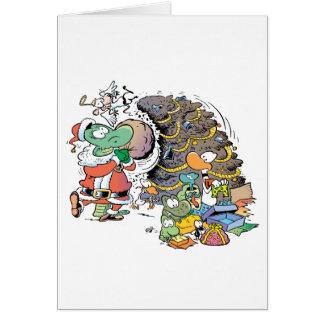 Swamp Christmas Card