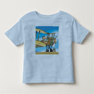 Swamp Ding Duck Biplane  Toddler T-Shirt