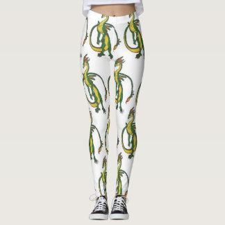 Swamp dragon leggings