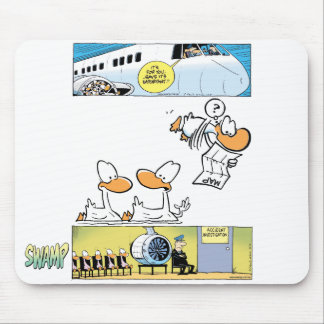 Swamp Duck Mouse Pad