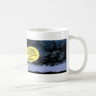 Swamp Ducks Stormy Weather Basic White Mug