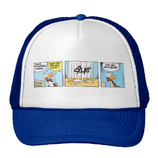 Swamp Flying Instructor Funny Cap