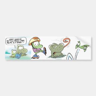 Swamp Frogs Bumper Sticker