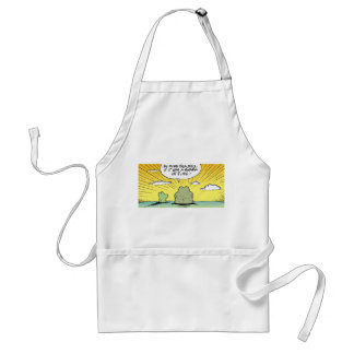 Swamp Frogs Cartoon Apron