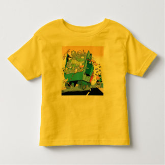 Swamp Garbage Truck Toddler T-Shirt