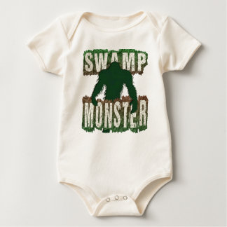 SWAMP MONSTER BABY BODYSUIT