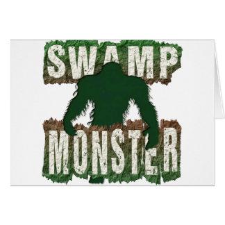 SWAMP MONSTER CARD
