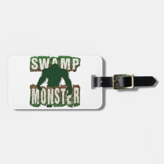 SWAMP MONSTER LUGGAGE TAG