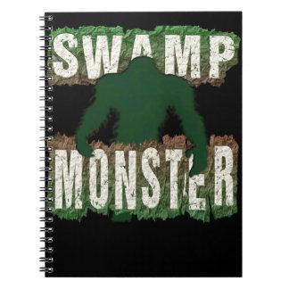 SWAMP MONSTER NOTEBOOKS