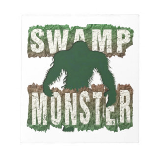 SWAMP MONSTER NOTEPAD
