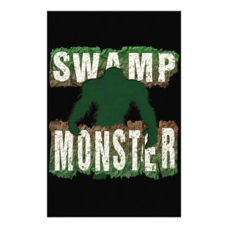 SWAMP MONSTER STATIONERY PAPER