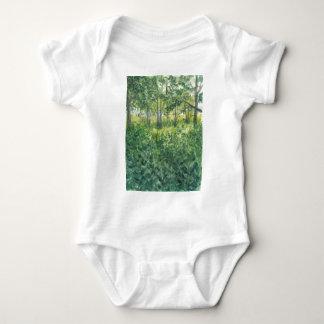 Swamp on Rügen Island Baby Bodysuit