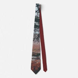 Swamp River Scene Neck Tie