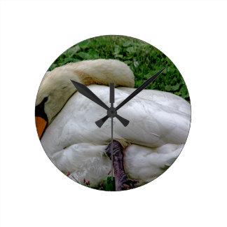 Swan 1 round clock