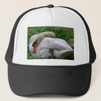 Swan 1 trucker hat