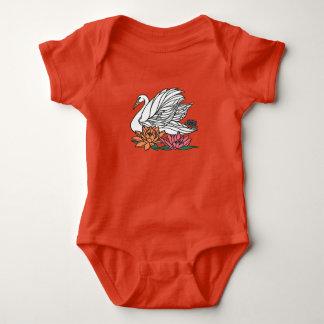 Swan 2 baby bodysuit
