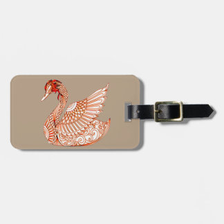 Swan 3 luggage tag