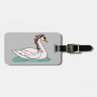 Swan 5 luggage tag