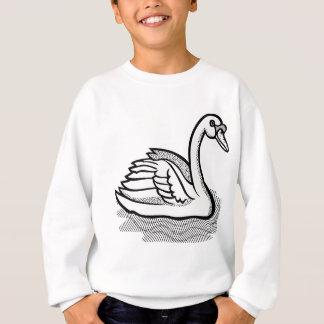 swan #6 sweatshirt
