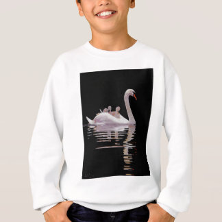 SWAN AND BROOD SWEATSHIRT
