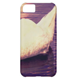 Swan at Sunset Cover For iPhone 5C