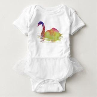 Swan Baby Bodysuit