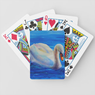 swan bicycle playing cards